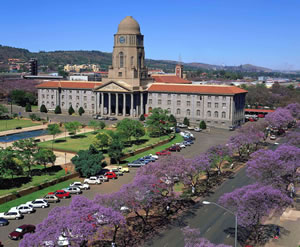 Pretoria, South Africa city hall